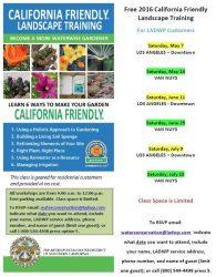California-Friendly Landscape Training