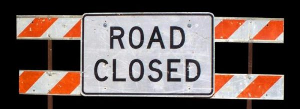 Traffic Alert: Coldwater Closed this Weekend