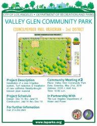 Valley Glen Community Park Meeting – Saturday, May 21