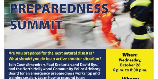 East Valley Emergency Preparedness Summit
