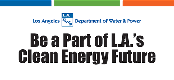 Be Part of L.A.'s Clean Energy Future