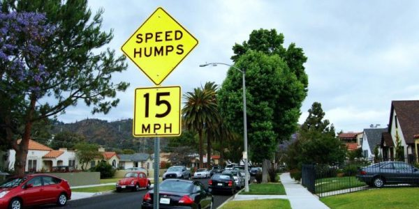 LADOT Reactivates Speed Hump Program