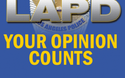 LAPD Seeks Input on Video Policy & Police Chief