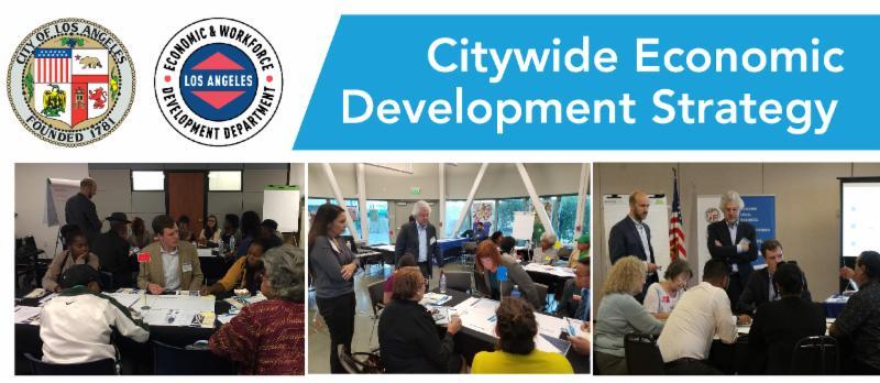 Provide Feedback on Citywide Economic Development Strategy