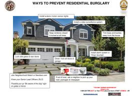 How to Harden the Target Against Burglary & Theft