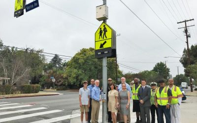 New Valley Glen Signal Protects Pedestrians