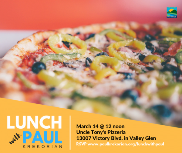 Lunch with Paul