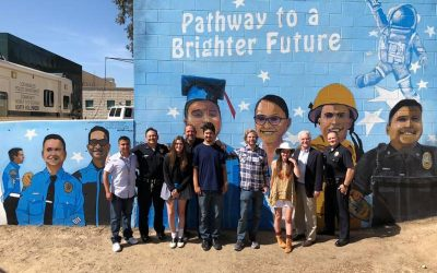 North Hollywood LAPD Gets New Mural