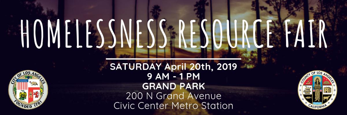 Homelessness Resource Fair