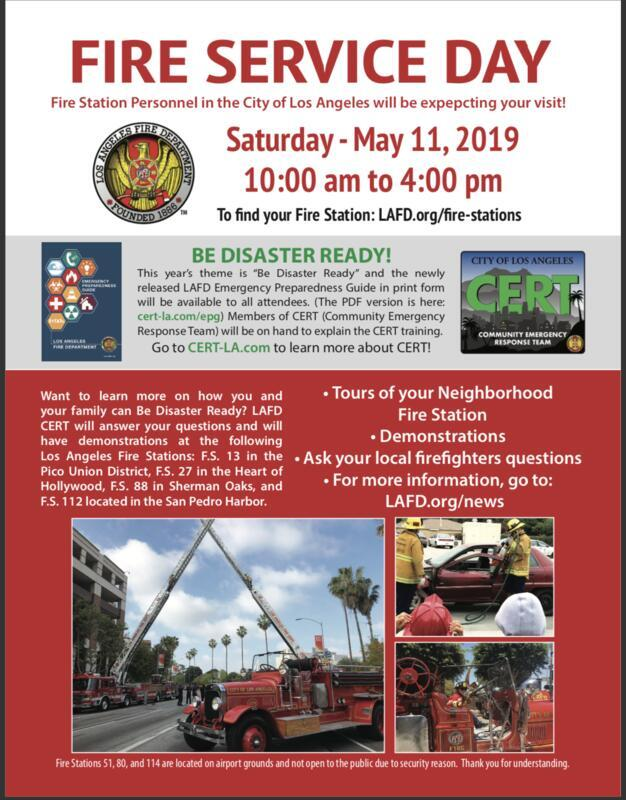 Fire Service Day & Open House