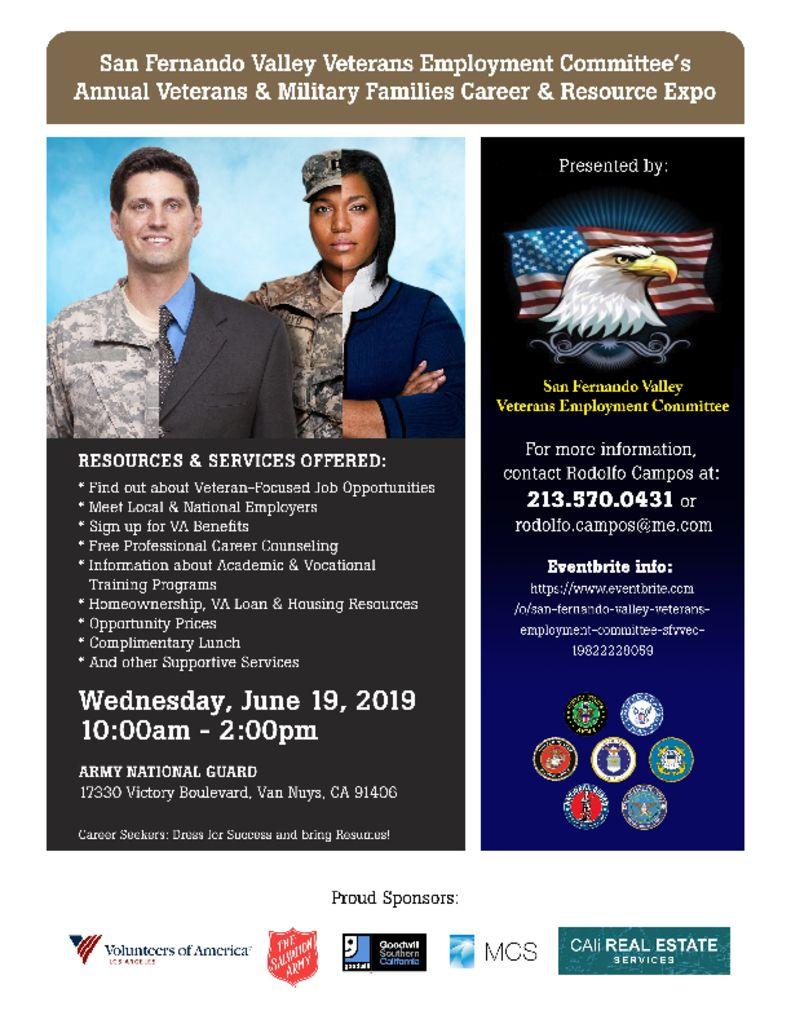 Veterans & Military Family Career & Resource Expo