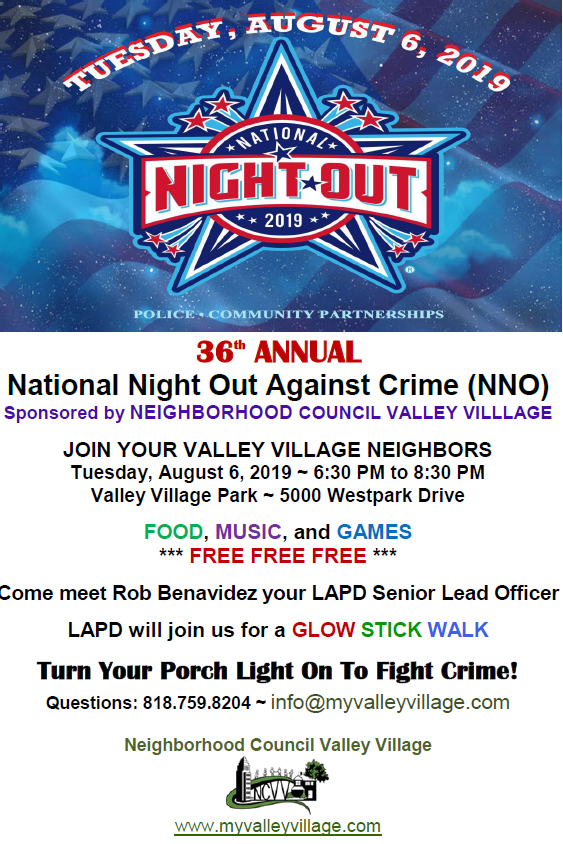 National Night Out Valley Village