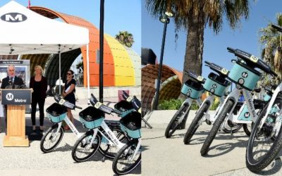 Metro Smart Bikes Are Now Available in North Hollywood