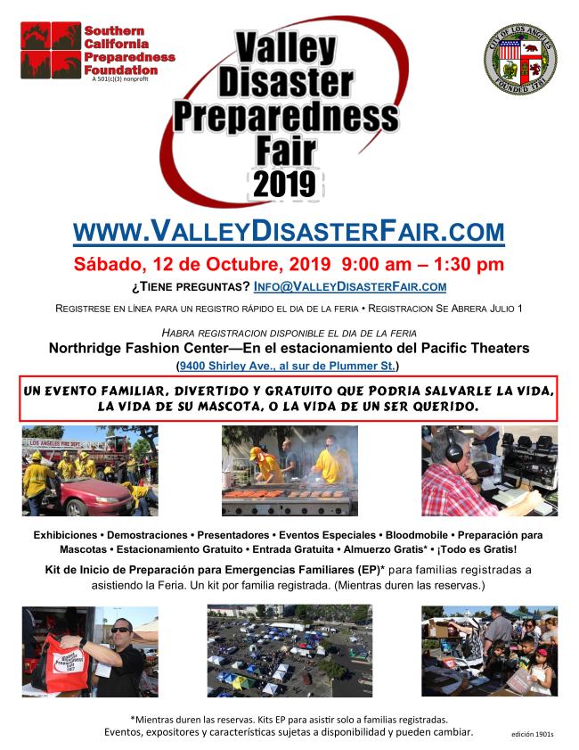 Valley Disaster Preparedness Fair