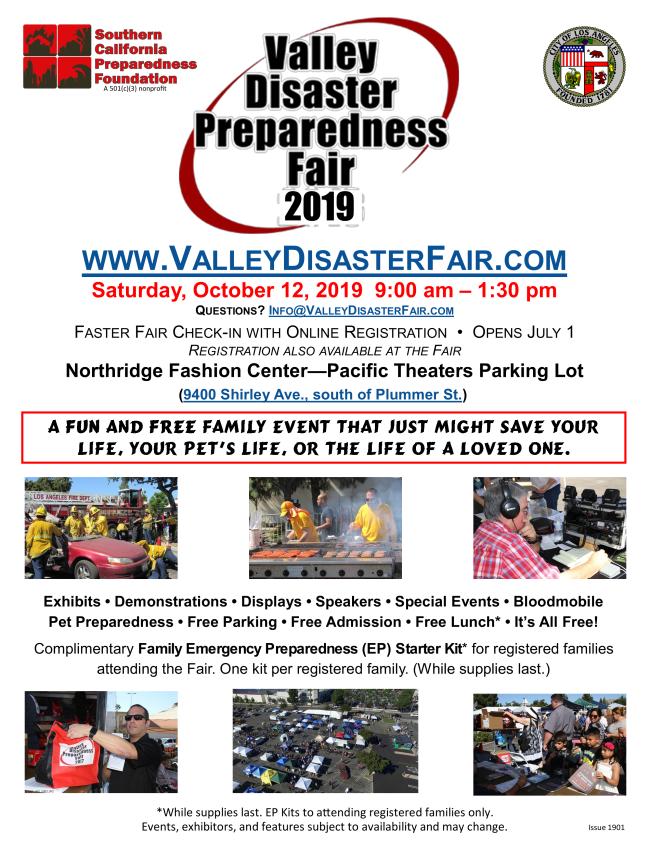 Disaster Preparedness Fair
