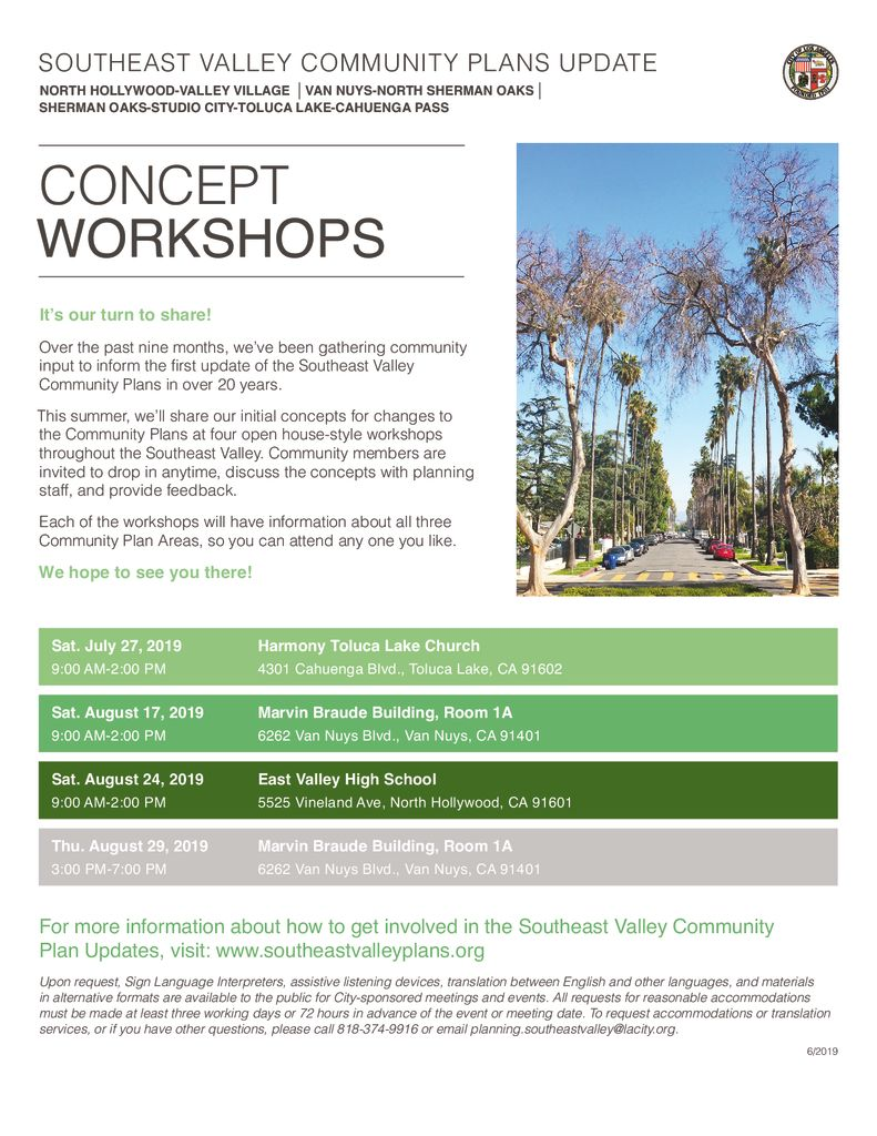 Community Plan Workshop