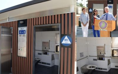 Self Cleaning Restroom Now Open at North Hollywood Park