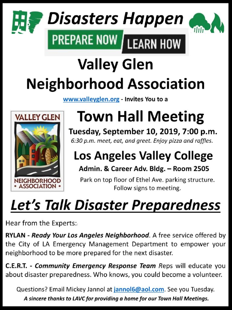 thumbnail of VGNA Town Hall Flyer September Town Hall