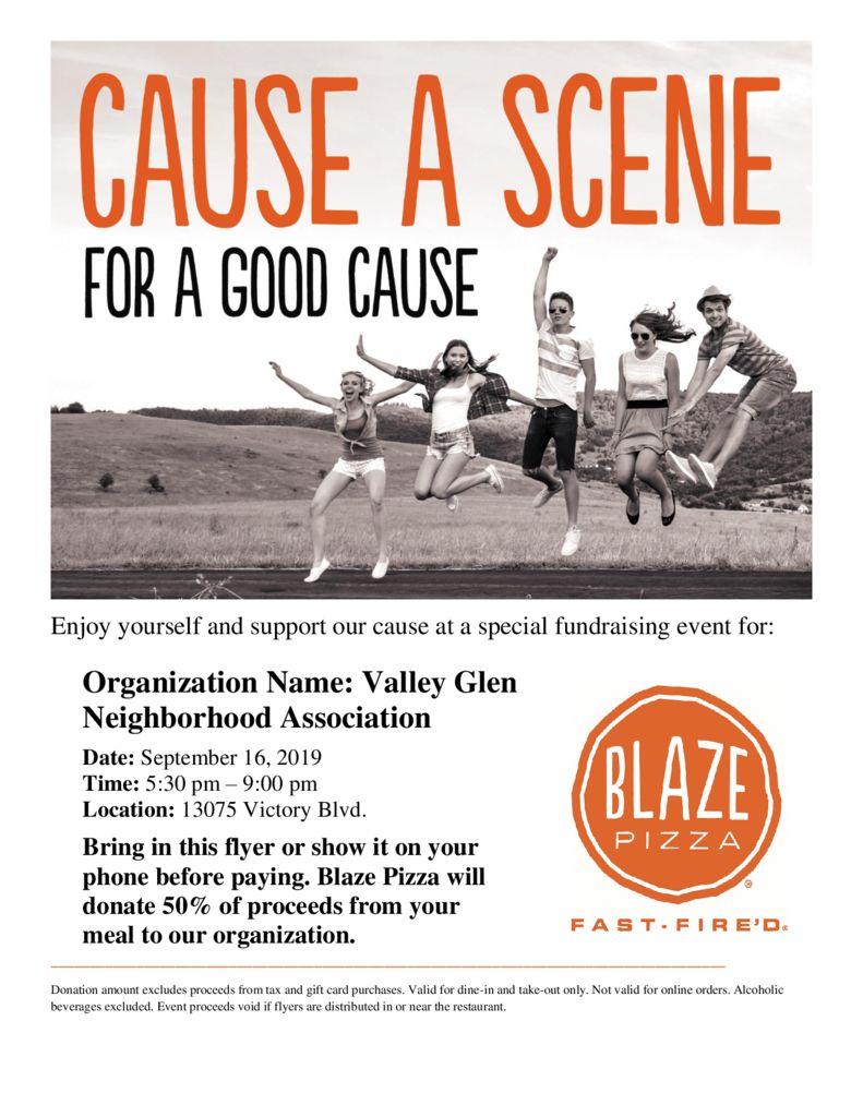 thumbnail of Valley Glen Neighborhood Association Flyer for Distribution