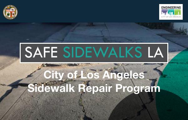 Safe Sidewalk LA Meeting