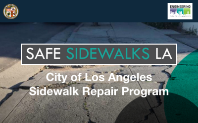 Comment on Sidewalk Repair