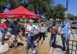 Valley Glen Donates Two Trucks of Food