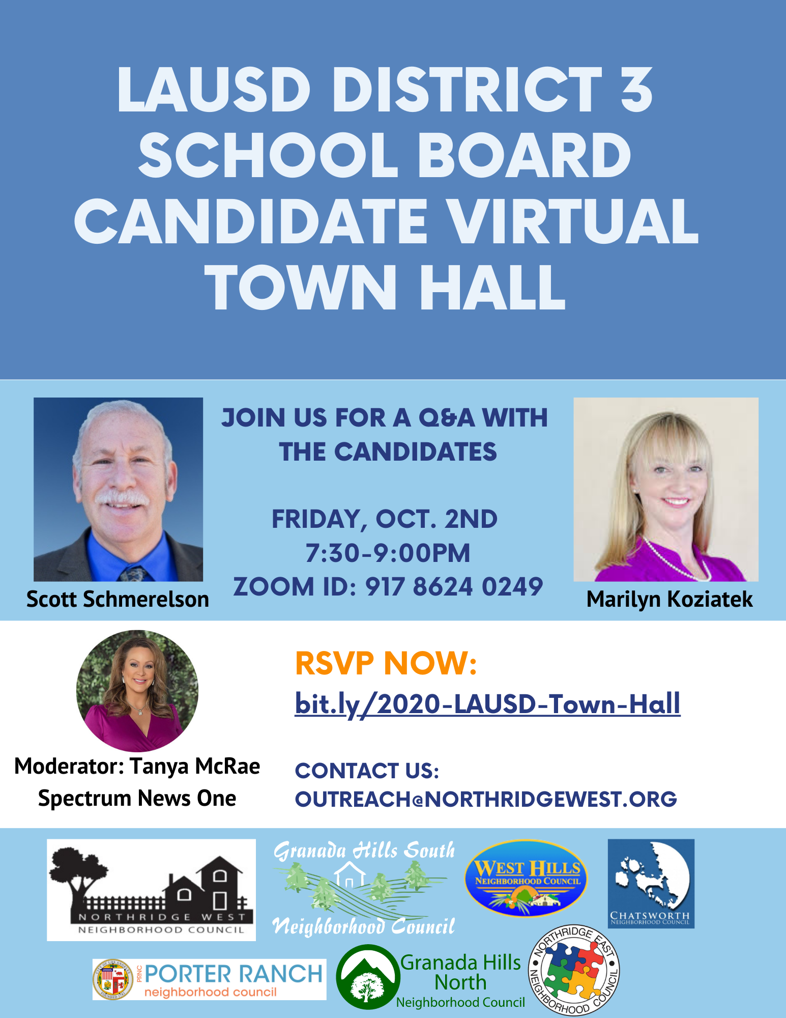 LAUSD Candidate Town Hall