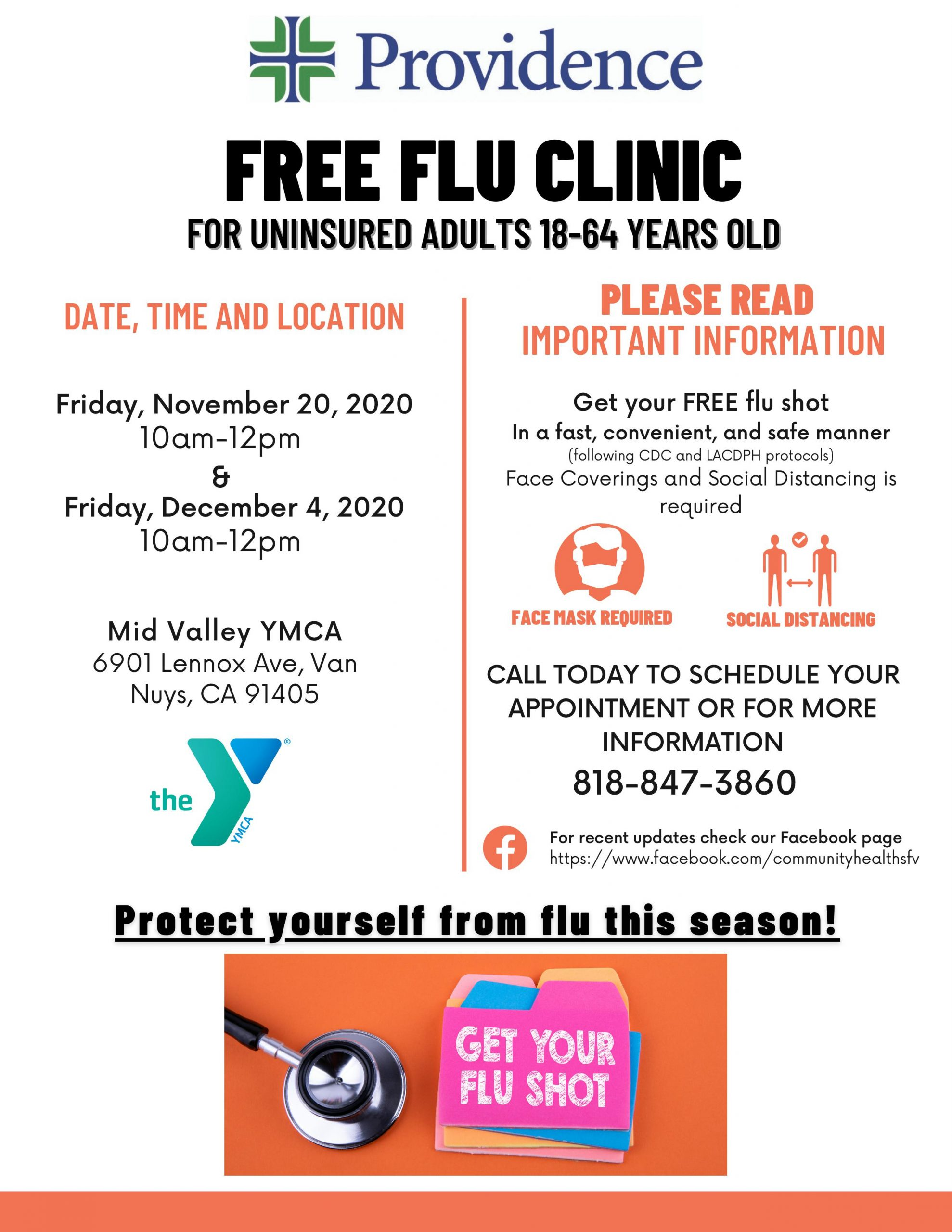 Flu Shot Providence and Y