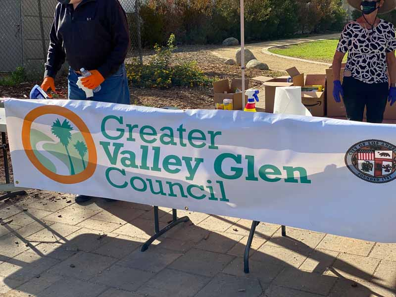 Greater valley glen council sign