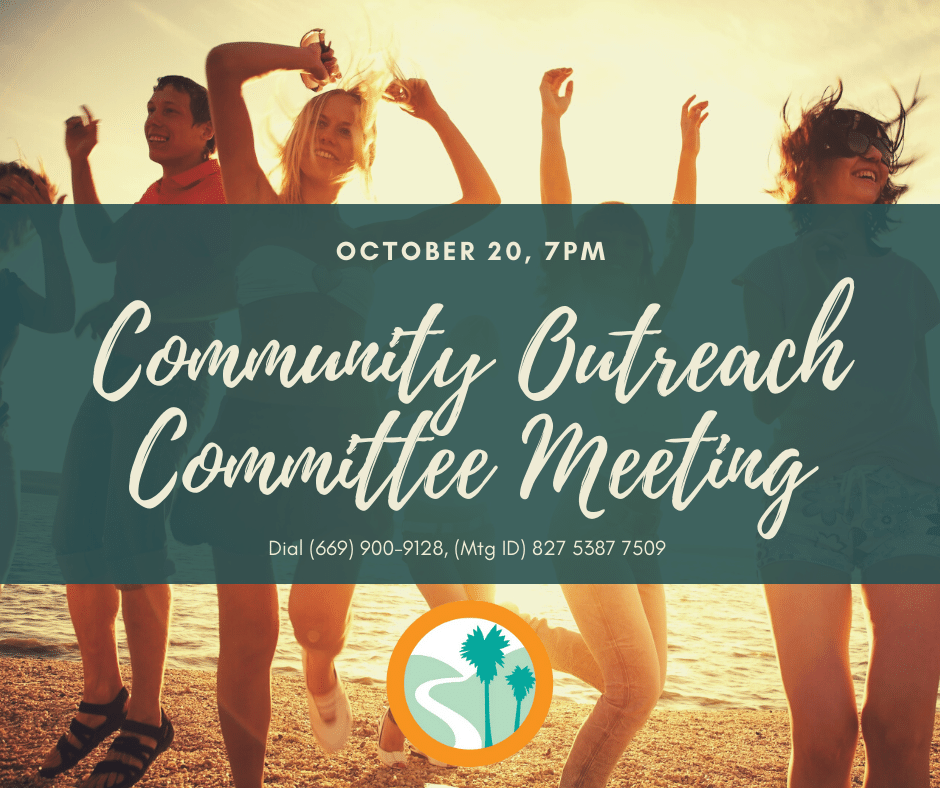 Community Outreach Committee Meeting Oct
