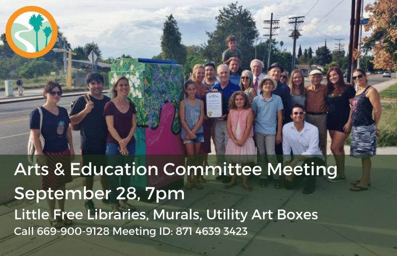 Arts & Education Meeting