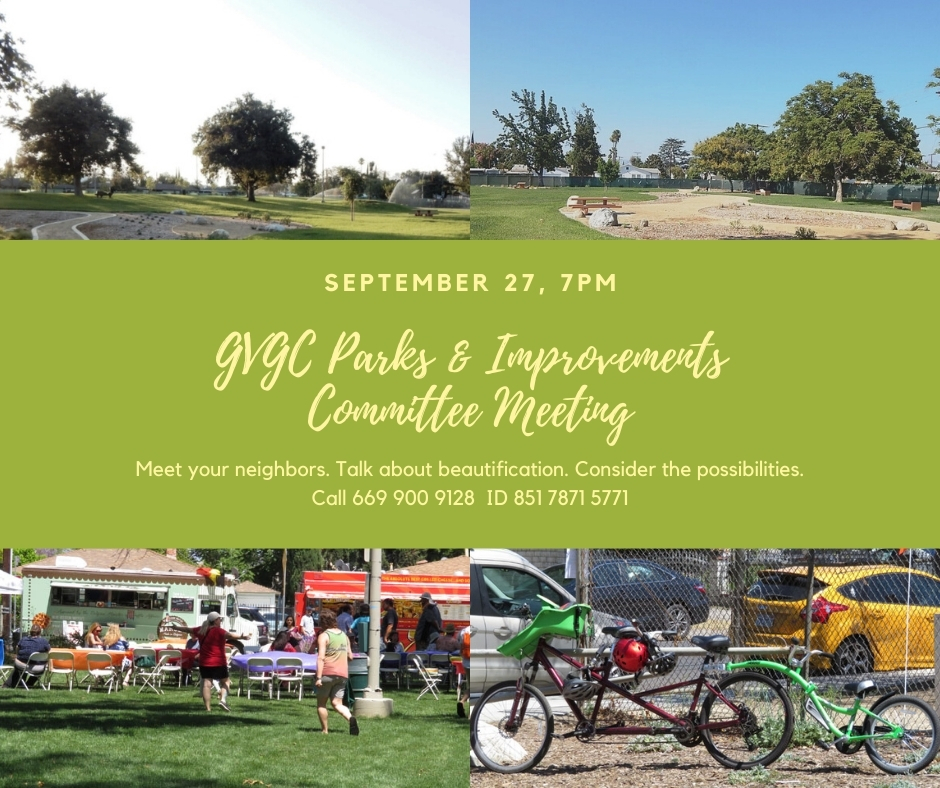 Parks & Improvements Committee Meeting