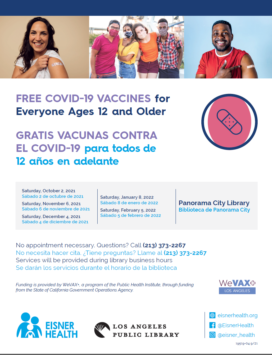 Panorama City Vax Events