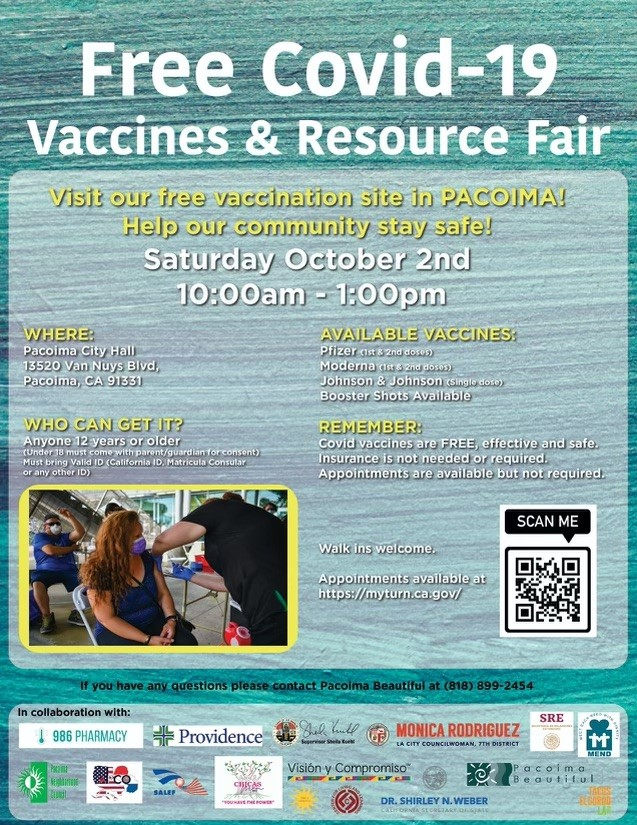 Free Vaccine & Resource Fair