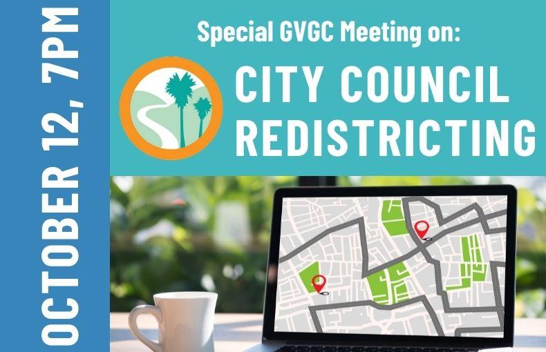 VG Redistricting Special Meeting